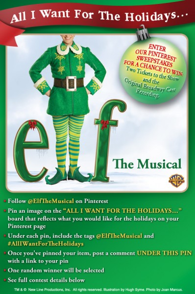 Enter the ELF Pinterest Sweepstakes & Win Tickets to the Show!