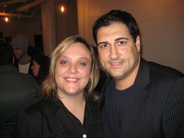 Jennifer Conley Darling and Christos Thrappas Photo