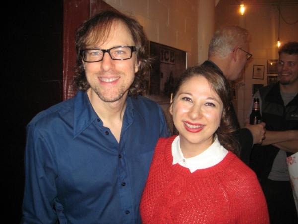 David Gibbs and Lisa Lewis Photo