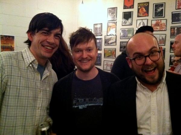 Bobby Moreno, Steve Boyer, and Robert Askins