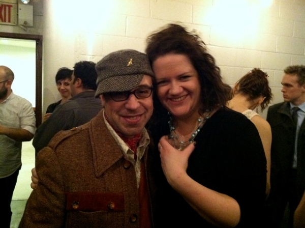 Jason Simms and Eva Scanlan