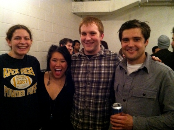 Kelly Burns, Diana Oh, Andrew Slater, and Joe Paulik