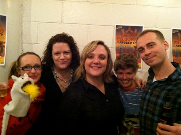 Photo Flash: Opening Night at terraNOVA's P.S. JONES AND THE FROZEN CITY at New Ohio Theatre