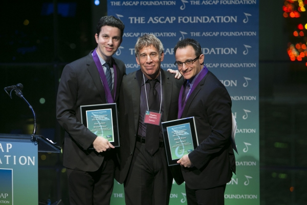 Alan Zachary, Stephen Schwartz, and Michael Weiner at Inside the 2012 ASCAP Foundation Awards!