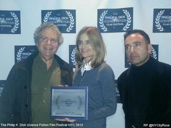 John Alan Simon, Elizabeth Karr, and Daniel Abella Photo