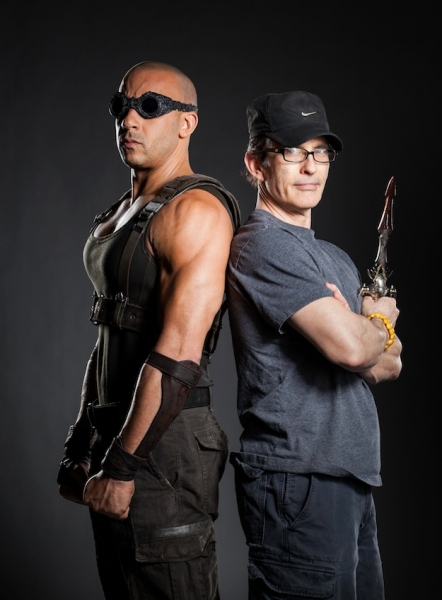 Photo Flash: Vin Diesel Set to Return as RIDDICK on Sept. 6, 2013
