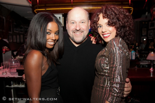 Adrienne Warren, Frank Wildhorn and Janet Dacal at Jeremy Jordan, Laura Osnes and More Join Frank Wildhorn for FRANK & FRIENDS at Birdland