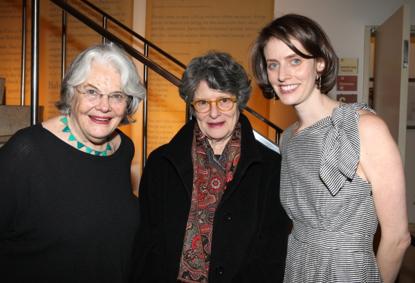 Lois Smith, Mary Louise Wilson & Amy Herzog