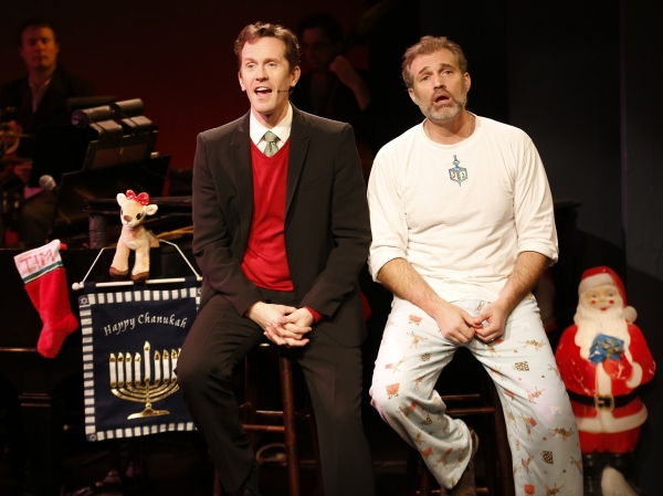 Photo Flash: First Look at Marc Kudisch and Jeffry Denman in THE HOLIDAY GUYS!