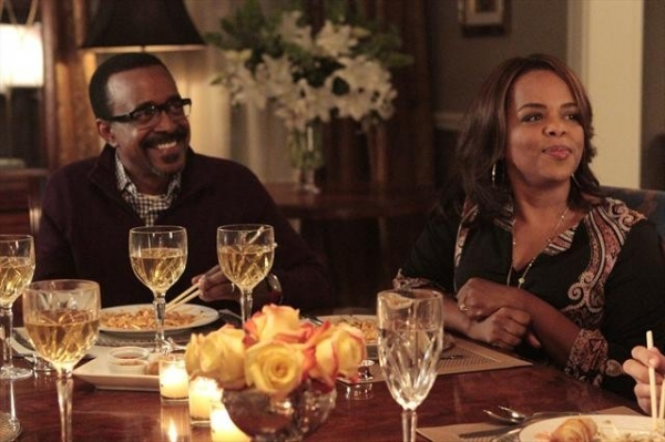 TIM MEADOWS, PAULA NEWSOME Photo