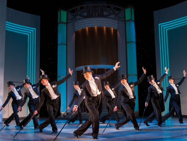 Photo Coverage: Charlotte Gooch Joins Tom Chambers In TOP HAT