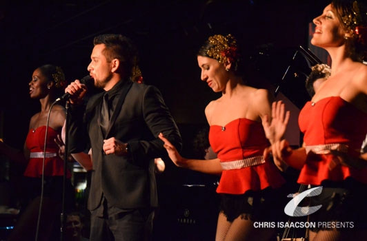 David Hernandez and the LA Follies at Upright Cabaret's A BROADWAY CHRISTMAS with White, Torme, Hernandez and more!