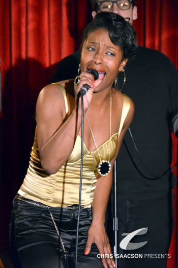 LaToya London at Upright Cabaret
