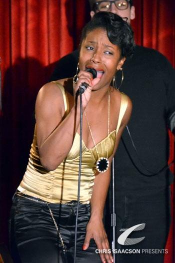 LaToya London at Upright Cabaret