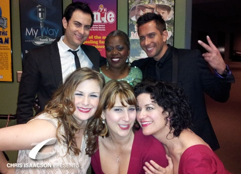Sheila Karls, James Torme, Lillias White, David Hernandez, Karissa Noel and Caitlin O'Brient