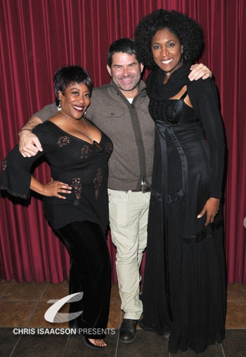 Carla Renata, Matt Zarley and Nita Whitaker
