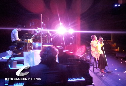 Jamieson Trotter and Lillias White at Annenberg Theater in Palm Springs