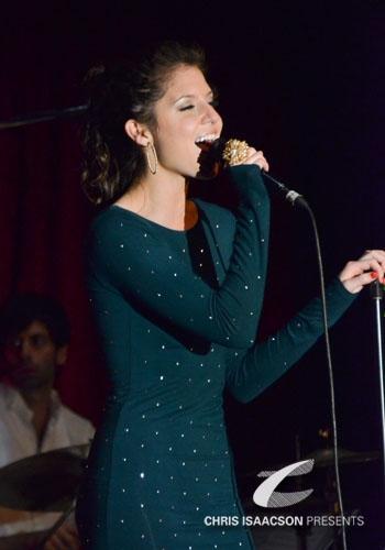 Brittany Underwood at Upright Cabaret