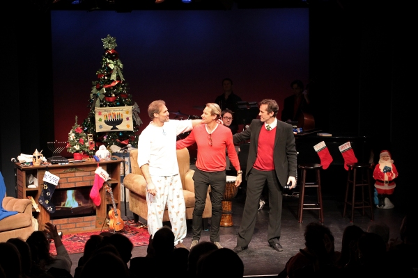 Photo Coverage: Inside Opening Night of THE HOLIDAY GUYS!