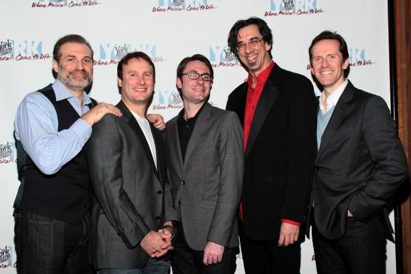 Marc Kudisch, Michael Croiter, Timothy Splain, Ritt Henn, Jeffry Denman