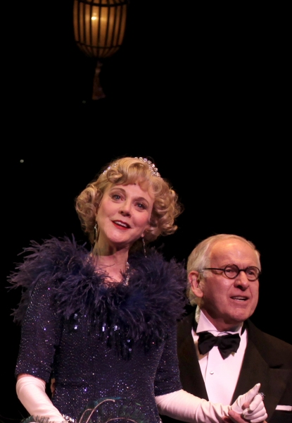 Blythe Danner, Terry Beaver  at Blythe Danner Returns To Broadway in NICE WORK IF YOU CAN GET IT