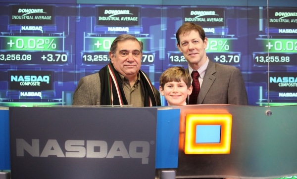 FREEZE FRAME: A CHRISTMAS STORY Cast Rings NASDAQ Opening Bell