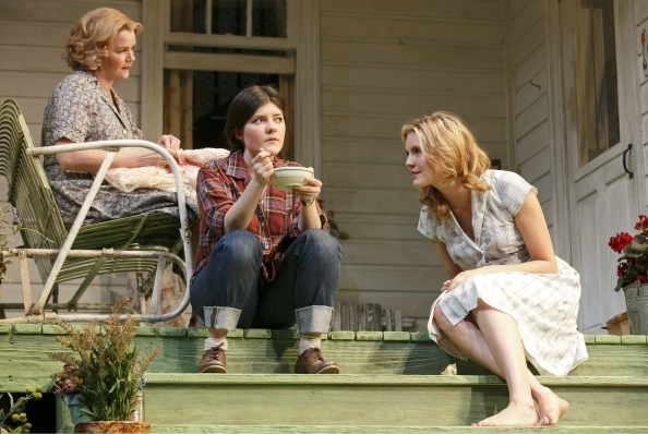 Photo Flash: New Shots of Sebastian Stan and Maggie Grace in Roundabout's PICNIC!