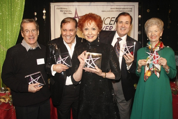 Larry Fuller, George Marcy, Carol Lawrence,  Lee Roy  Reams and Norma Doggett-Bezwick