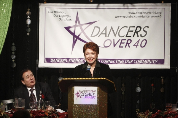 Lee Roy Reams and Donna McKechnie  at Uggams, McKechnie, and More at Dancers Over 40's 2012 LEGACY AWARDS
