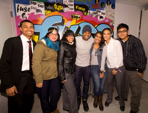 Photo Flash: FUSE Rocks The Classroom -Fall 2012 Semester, Feat. Ne-Yo and Meek Mill