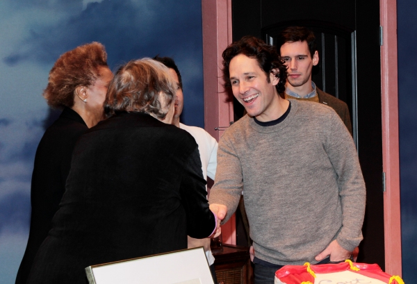 Lois Smith, Leslie Uggams, Mario Cantone, Paul Rudd, Cory Michael Smith at Paul Rudd & Cast of GRACE Celebrate Cort Theatre's 100th Anniversary