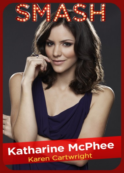 SMASH Character Card - Katharine McPhee as KAREN CARTWRIGHT
