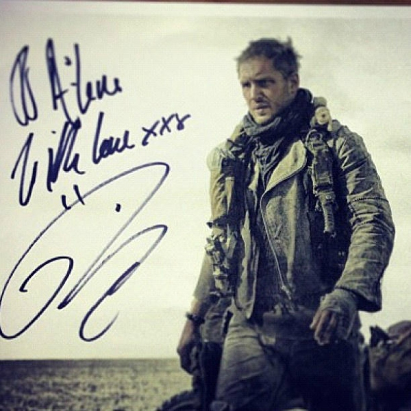 Photo Flash: First Look - Tom Hardy as MAD MAX