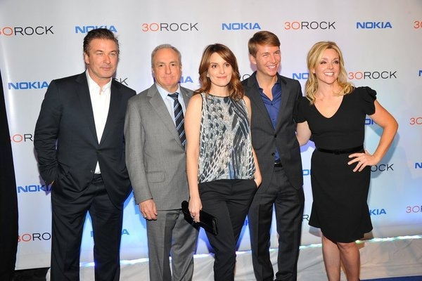 Alec Baldwin, Lorne Michaels, Tina Fey, Jack McBrayer, Jane Krakowski at 30 ROCK Series Wrap Party!