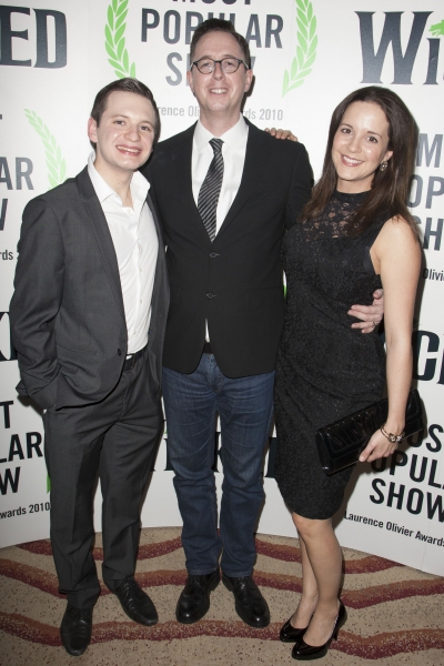 Outside of UK subscription dealsMandatory Credit: Photo by Dan Wooller/Rex / Rex USA (1192955be)Sam Lupton, Michael McCabe and Katie Rowley Jones'Wicked' play press night after party at the Apollo Victoria Theatre, London, Britain - 20 Dec 2012