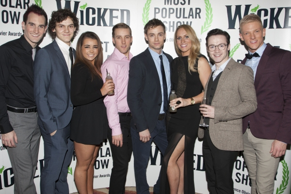 Outside of UK subscription dealsMandatory Credit: Photo by Dan Wooller/Rex / Rex USA (1192955z)Jason Winter, William Bozier, Aisling Duffy, Robert Jones, Oliver Watton, Michelle Pentecost, Marc McBride and Tom Muggeridge'Wicked' play press night after p