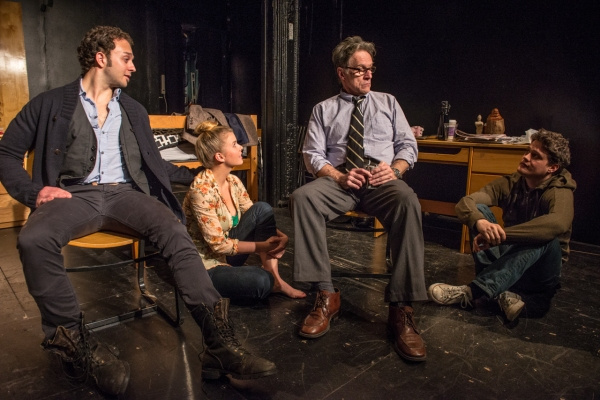 Photo Flash: First Look at Amoralists' COLLISION at Rattlestick