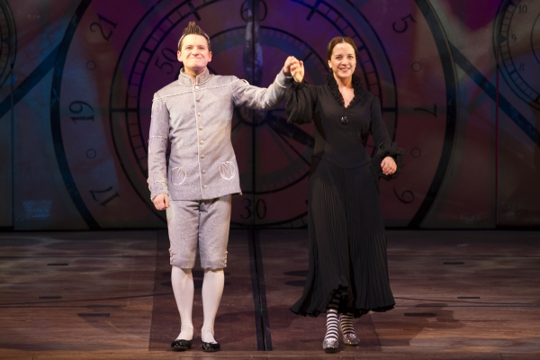 Sam Lupton as Boq and Katie Rowley Jones as Nessarose