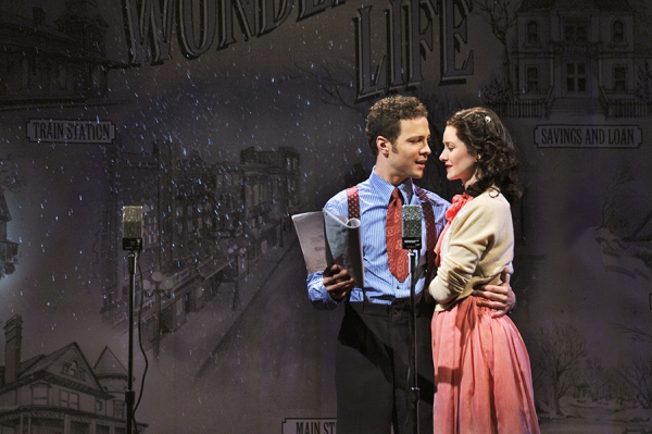Photo Flash: First Look at Justin Guarini, Lauren Molina, Jill Paice and More in Bucks County's IT'S A WONDERFUL LIFE