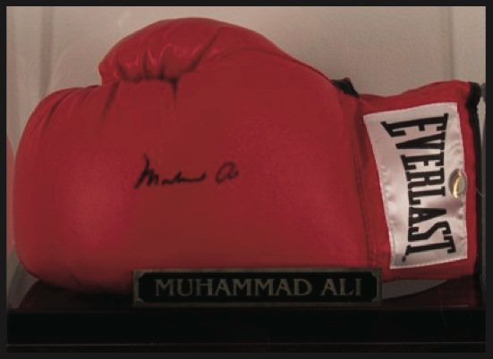 Autographed Springsteen Guitar and Muhammad Ali Boxing Glove Featured at Chenango River Theatre Fundraiser Today