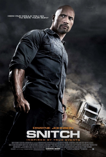 Photo Flash: New Poster for SNITCH, Feat. Dwayne 'The Rock' Johnson
