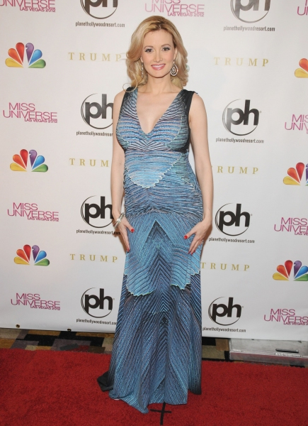 Holly Madison at Miss Universe 2012, Planet Hollywood Resort and Casino, Las Vegas (P Photo