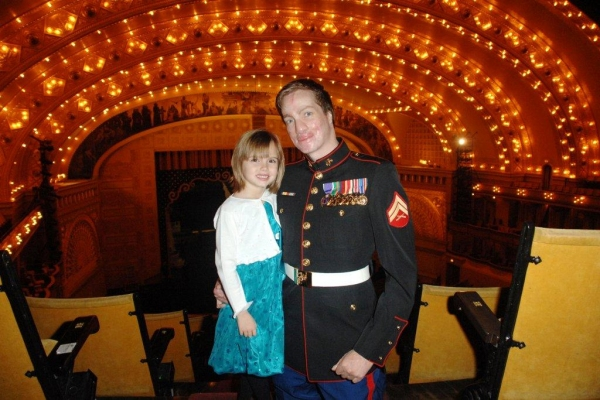 Photo Flash: Patricia Kennedy Hosts Wounded Vets at Joffrey Ballet's NUTCRACKER