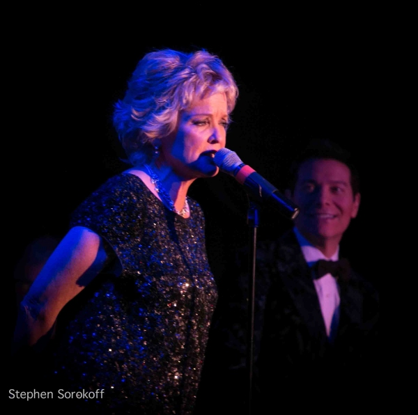 Christine Ebersole at Christine Ebersole and Michael Feinstein Play Feinstein's