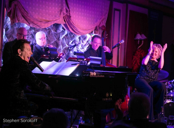 Michael Feinstein & Christine Ebersole at Christine Ebersole and Michael Feinstein Play Feinstein's
