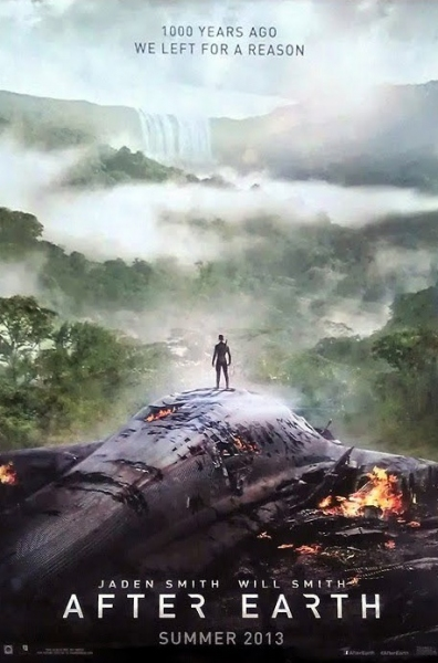 Photo Flash: First Look - Poster Art for Will Smith's AFTER EARTH