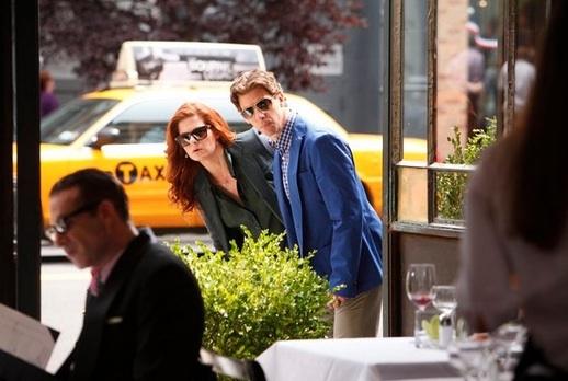 Debra Messing, Christian Borle - 'The Dramaturg' Episode at First Look - Jennifer Hudson, Jeremy Jordan & More on SMASH Season 2