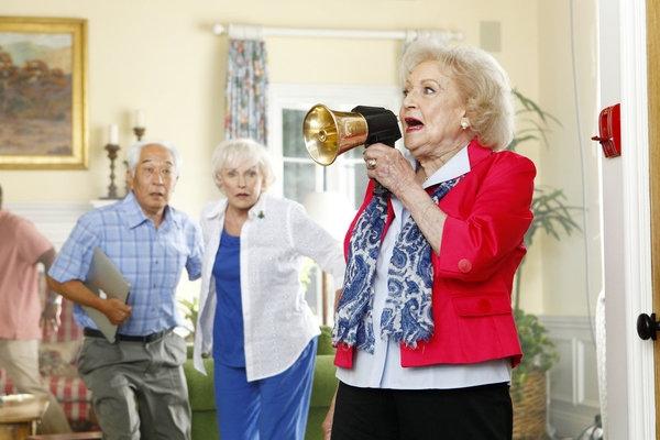 Michael Yama, Ann Benson, Betty White