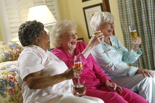 Reatha Grey, Betty White, Ann Benson