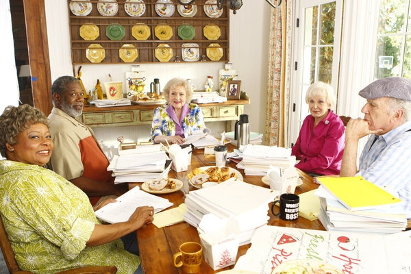 Reatha Grey, Lou Beatty, Jr., Betty White, Ann Benson, Richard Reicheg